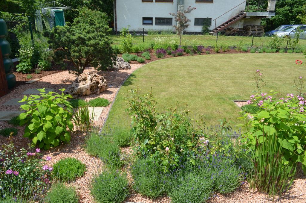 anglická zahrada